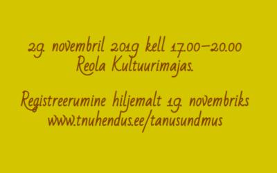Tartumaa noorsootöö tänusündmus 2019