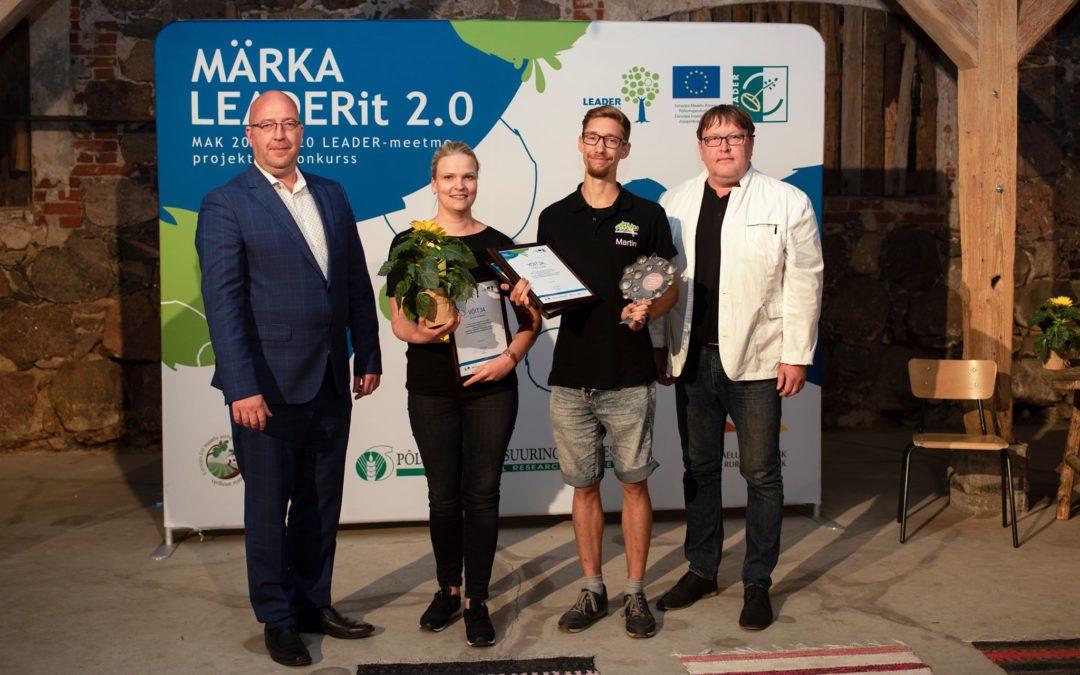 """Kuulutati välja konkursi """"Märka LEADERit 2.0"""" võitjad"""